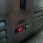 Refrigerator electronic controller