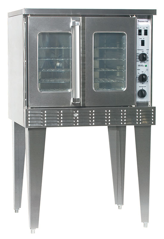 Gas-convection-oven