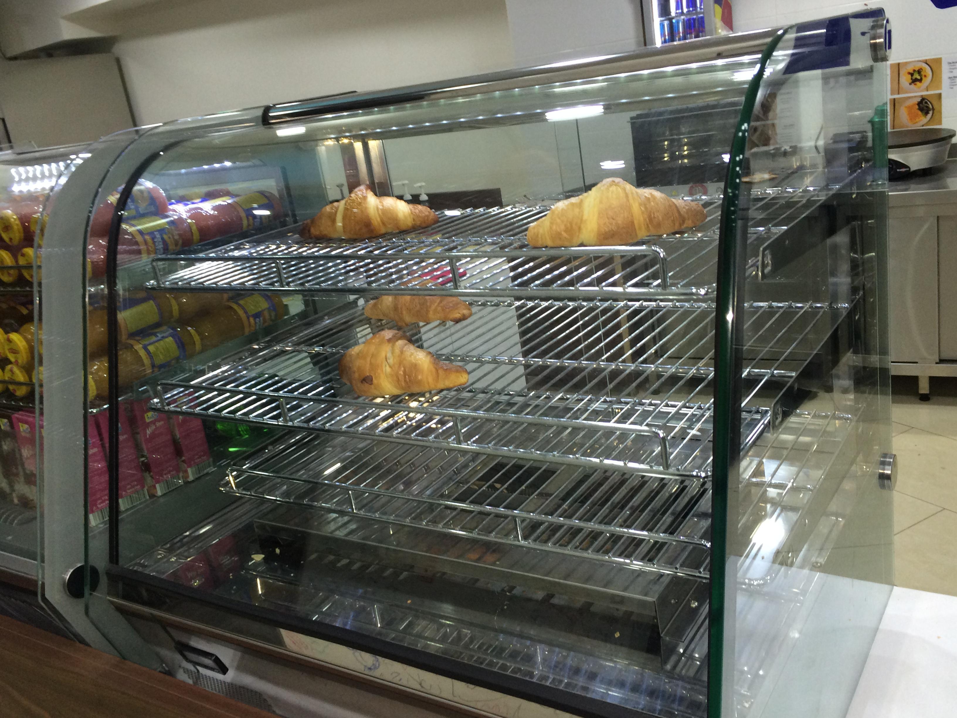 cafeteria croissant heater