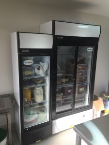Lebfrost upright fridge