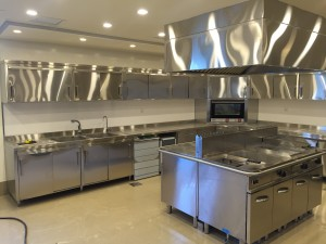 Stainless Kitchen front side