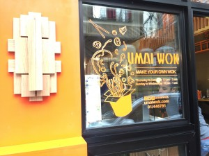 Umai wok Menu