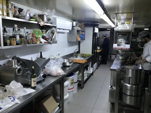 IPEC Kitchen preparation section