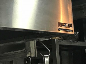 IPEC exhaust hood