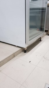 Technokitchen upright freezer