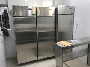 Technokitchen upright fridge